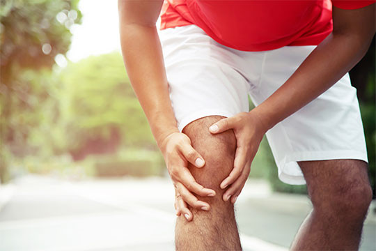 Treatment of sprains