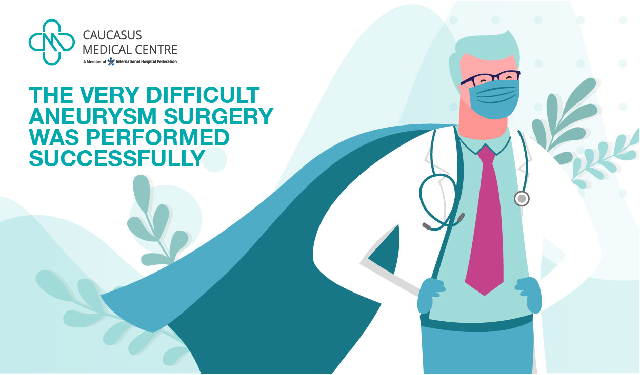 The Very Difficult Aneurysm Surgery was Performed Successfully