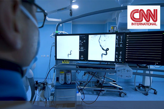 Caucasus Medical Centre through CNN's lens