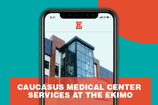 Caucasus Medical Center and EKIMO Offer Remote Services to Georgians Abroad